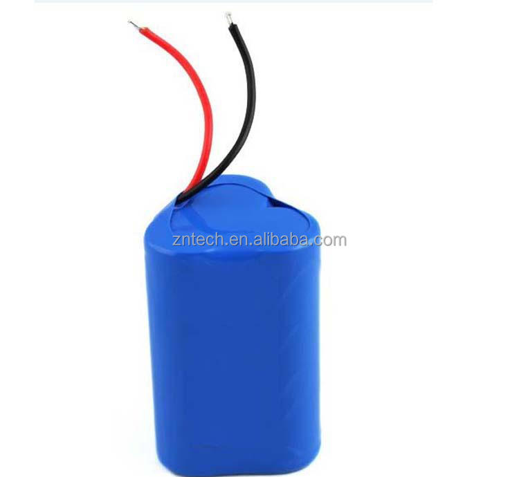 li-ion battery pack 11.1V 2000mAh 18650 rechargeable battery for solar street lights