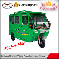 New style closed type pedal tricycle for adults on sale