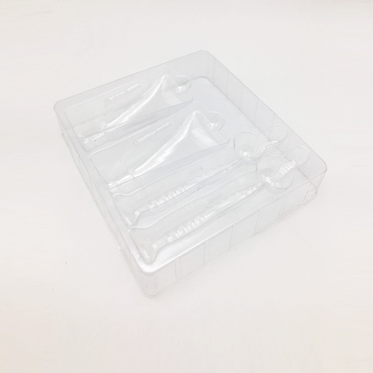 Custom cheap  transparent clear plastic tray blister packaging