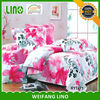 fancy bed sheets/flower design bed sheet/indian cotton bed sheets
