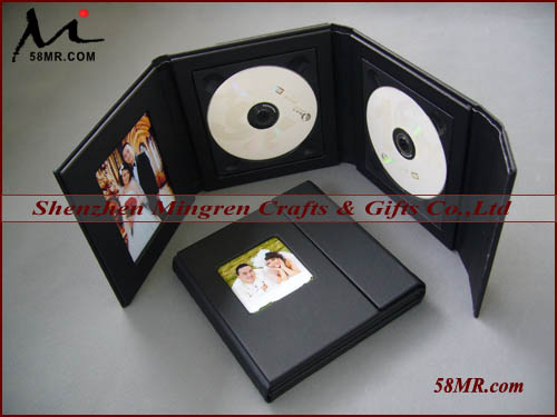 High Quality Elegant Luxury Wedding CD DVD Case