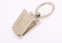 custom fashion photoframe keychains mini magnetic picture frames keyring