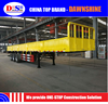 3axles 20ft 40ft Flatbed Container Transport