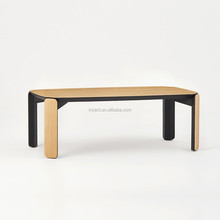 Dinning Long Coffee Square Simple Design Furniture Modern Living Room Wooden Center Table