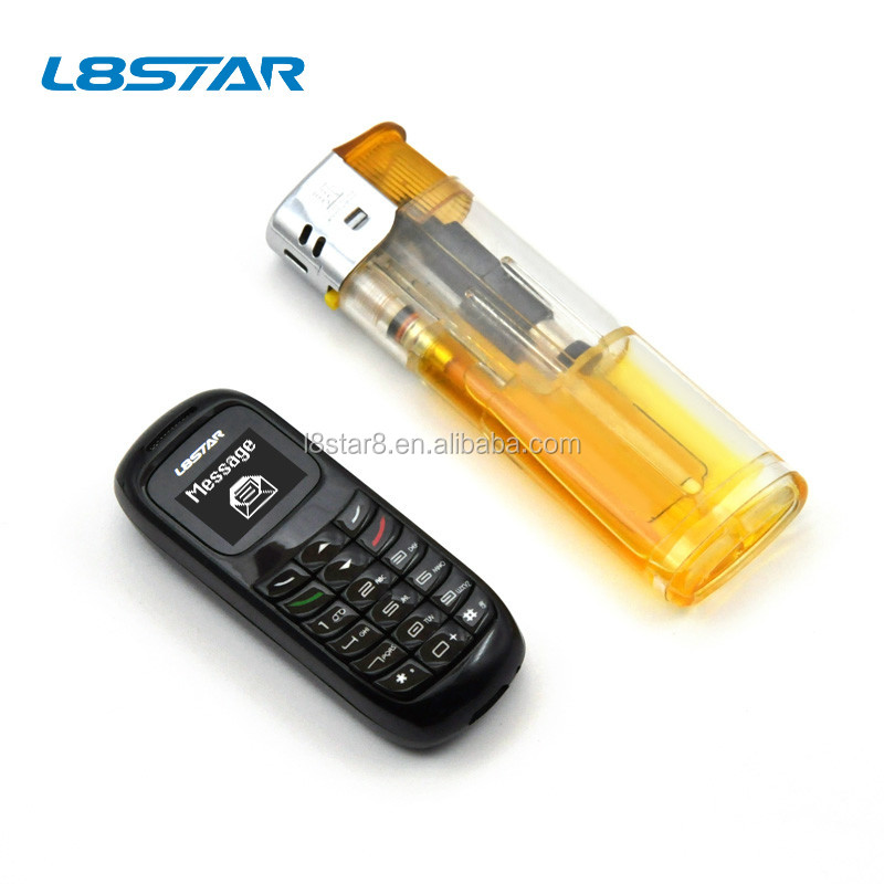 L8star mobile phones bluetooth dialer 32+32M No SIM card 0.66inch