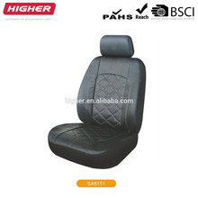 Italian type leather/towel car seat cover factory custom in china