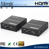 HDMI Extender HDMI Transmitter Receiver over Cat 5e/6 RJ45 Ethernet Converter up to 395ft 120M