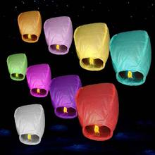 China factory cheap custom printed paper lantern no flame sky flying lanterns