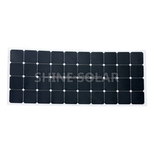 Flat Panel Type flexible solar panel 50w 120w 100w
