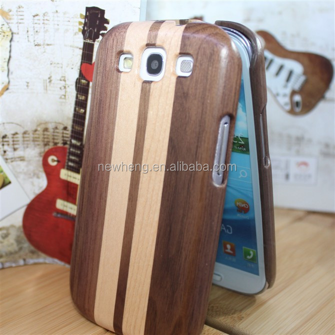 Wood Hard Wooden Mobile Phone Cover Case For Samsung Galaxy S3 SIII i9300