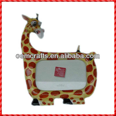 Giraffe shaped beautifully designed Photo Picture Frame