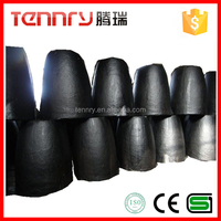 Refractory Acid Resistant Clay Graphite Crucible For Furnace