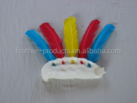Goose feather headgear - China manufacturer MH-604
