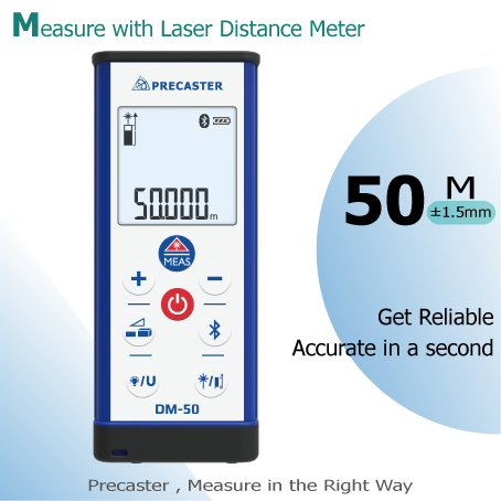 Laser distance meter bluetooth household product measure area,volume with standard accessory safety strap,manual and aaa battery