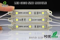 CE & RoHS waterproof led smd module 5050 3 smd led module for signs channel letter light emergence
