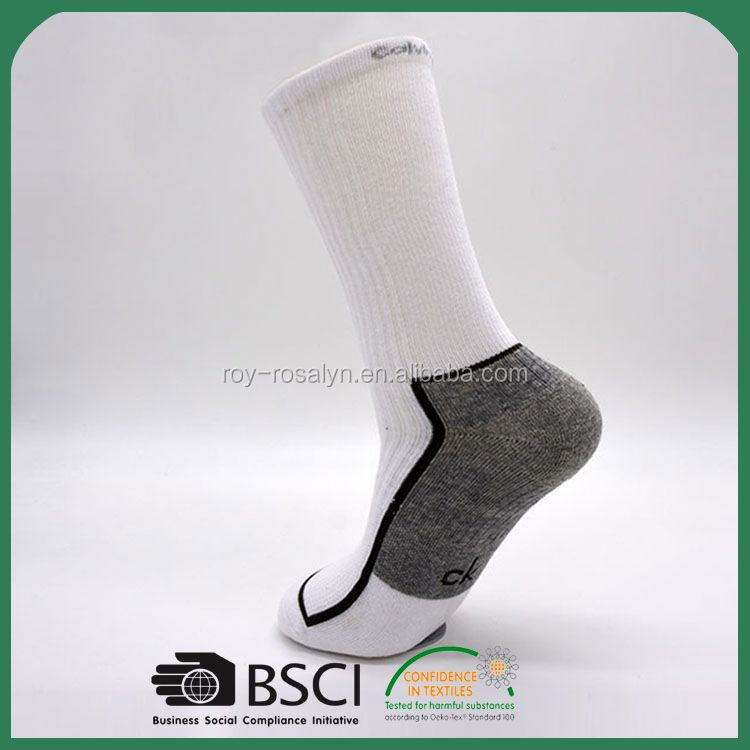 New products simple design thick knee high socks for wholesale