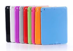Colorful Slim Anti-Dust TPU Soft Back Cover Shell Case for New Apple iPad Air 5