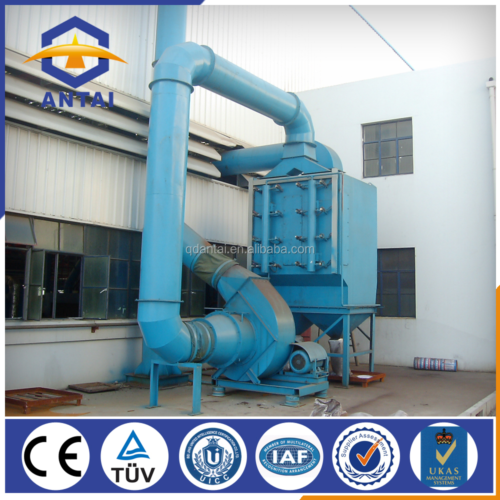 induction furnace dust collector for cement plant