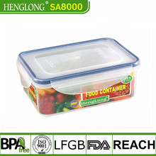 lunch box microwave safe crisper waterproof storage container
