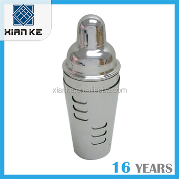 700ml stainless steel double wall cocktail shaker
