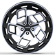 Aluminium alloy aftermarket car wheel rims 19 inch 20 inch