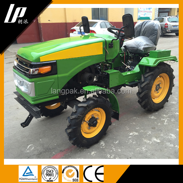 New type Cheap Small Farm Tractor For Sale/mini tractor 12hp to 24hp 4wd