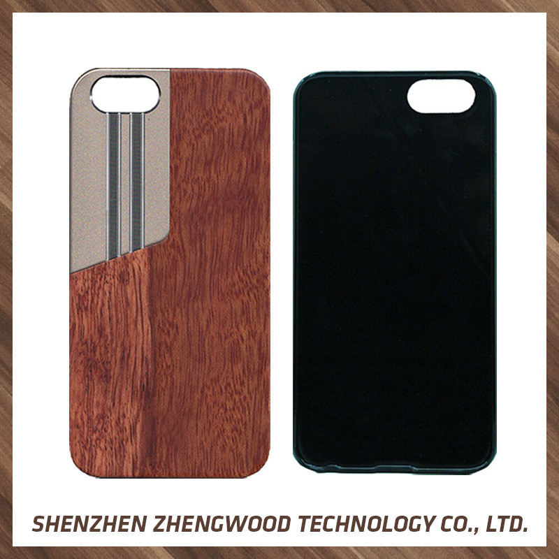 Manufacturer Supplier real wood phone case wood totu design case for iphone 5