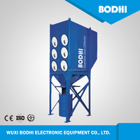 Industrial Smoke Purification System Built-in Fan cartridge dust collector