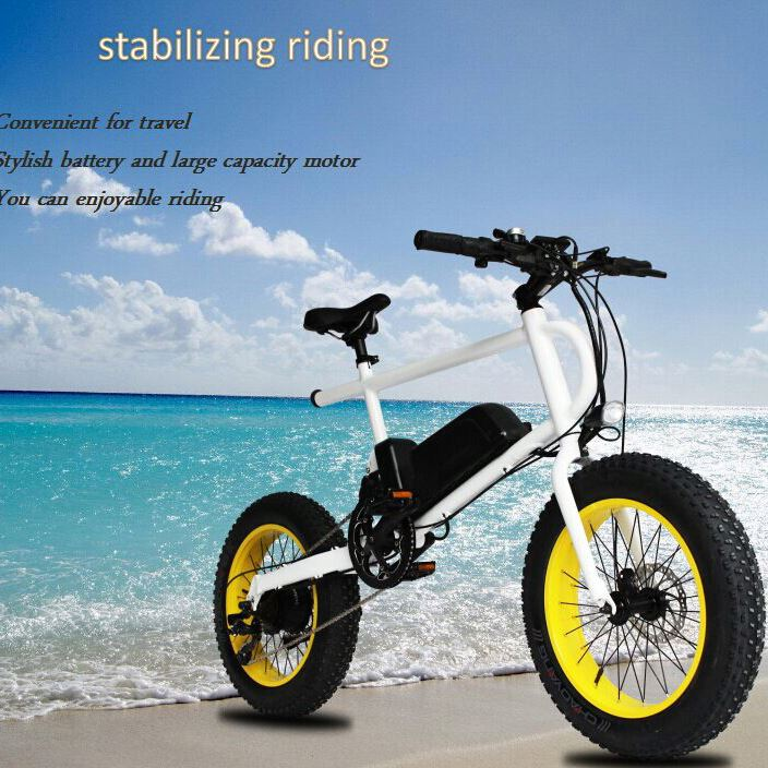 MOTORLIFE/250W retro beach cruiser electric bike / 20' green power city electric bicycle / cheap e bike