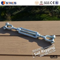 High Quality Carbon Steel Drop Forged Galvanized Din1480 Turnbuckle