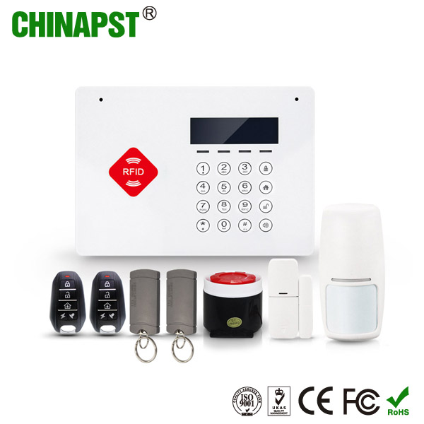 2017 Factory Outlet Home Installation Security Alarm APP Control Touch Keypad Wireless burglar Smart GSM laser alarm PST-G66B