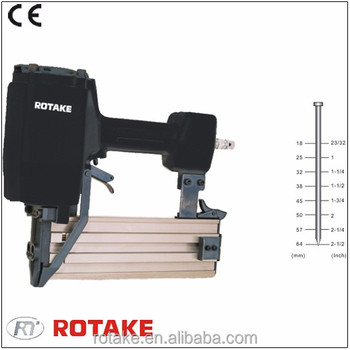 ROTAKE ST64 13 GA Concrete T nailer Heavy duty cast