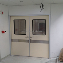 HD057 stainless steel hospital design doors with low price