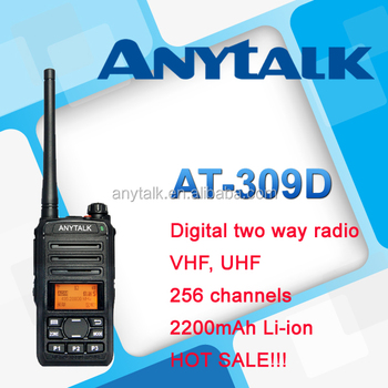 Digital radio AT-309D 3W power DPMR walkie talkies