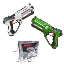 Hot sale Battery Operated B/O Infrared Shooting Space Warrior Toys Gun Laser Tag Gun Game