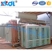 High power rectifier, 380 to 220 transformer