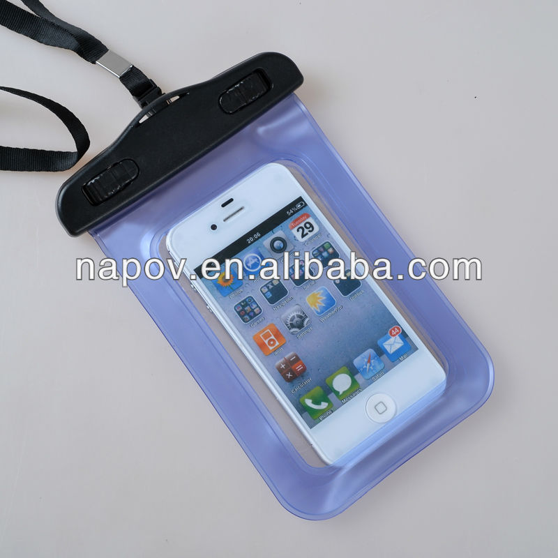 China supplier PVC Phone Waterproof Case for Nokia Lumia 520