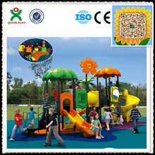 2016 Hot sale! kids play area/childrens playground/playground games monkey bars/outside playground QX-018B