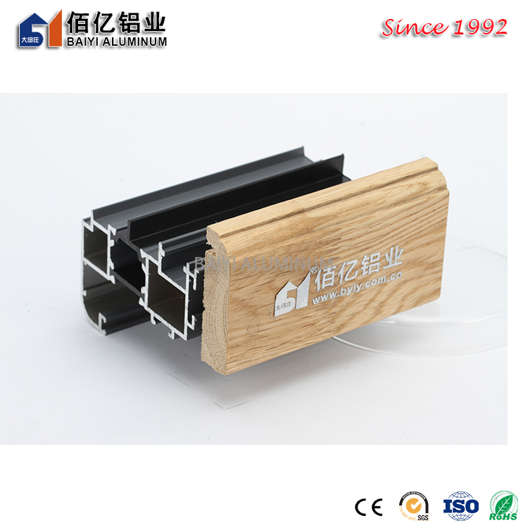 Competitive Price Aluminum Wooden Composite Profile in China
