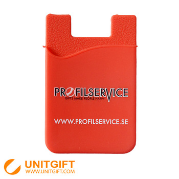 silicone mobile phone id card holder,silicone card holder wallet
