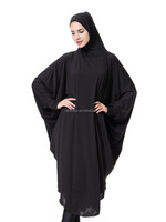 Muslim Arab women Micro Fiber Kint black beauty prayer clothing hijab abaya