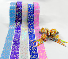 gift wrap Printed ribbon Pull bow