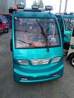 china made new style cheaper 4 wheeler rickshaw with solar panel