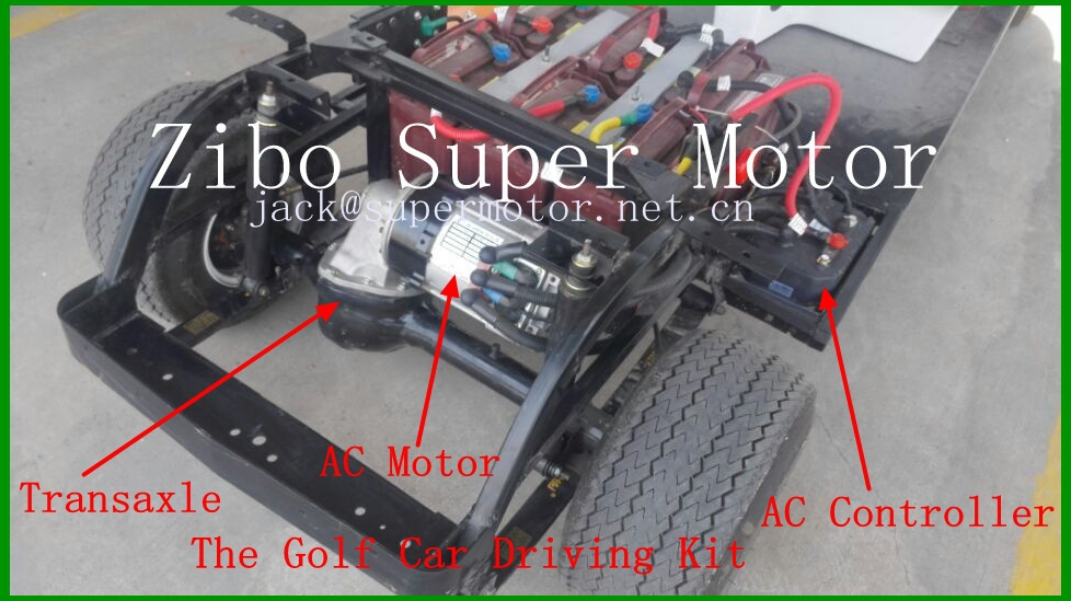 5kw 48v AC Motor for electric golf car