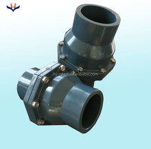 2 inch Water Supply Plastic Swing PVC Check Valve dn65