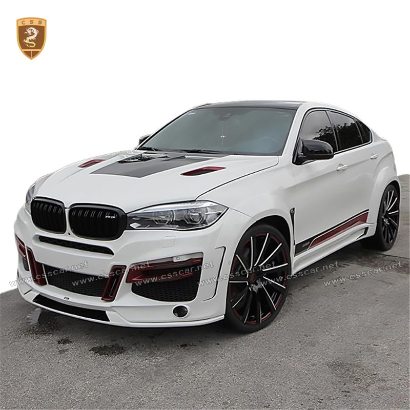 2015 2016 La Style Glass Fiber Body Kit For Bmw X6 F16