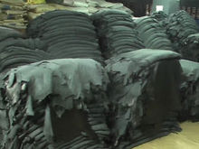 leather garments, finished leather, leather crust