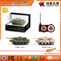 RC Tank Toy Battle Vehicle Remote Control Rotate Fighting Tank Tracks Electrical Toy for Child Boy Kids