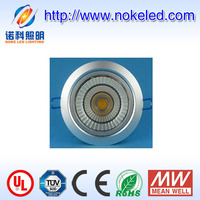 home and hotel high quality cob 15watt high efficiency driver led down light