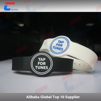 Custom Color Silicone RFID Wristband/Barcelets for Event